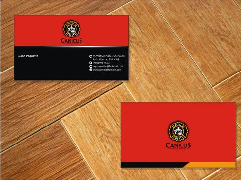 Canicus Business Cards and Stationery  Draft # 87 by Deck86