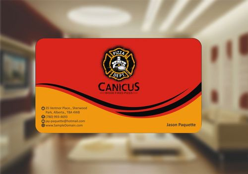 Canicus Business Cards and Stationery  Draft # 88 by Deck86