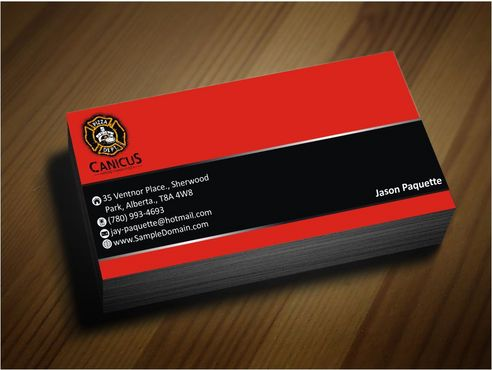 Canicus Business Cards and Stationery  Draft # 91 by Deck86