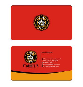 Canicus Business Cards and Stationery  Draft # 90 by Deck86