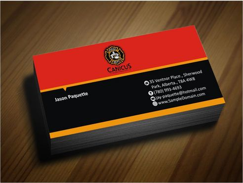 Canicus Business Cards and Stationery  Draft # 92 by Deck86