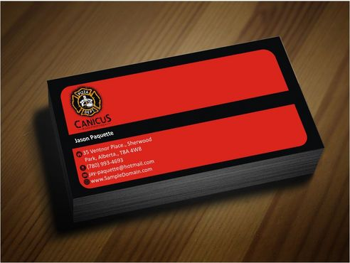 Canicus Business Cards and Stationery  Draft # 93 by Deck86