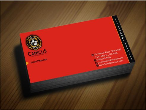 Canicus Business Cards and Stationery  Draft # 95 by Deck86