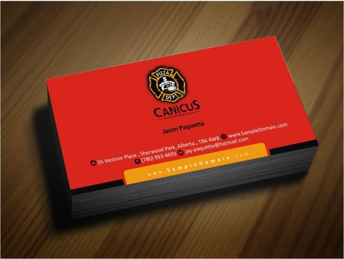 Canicus Business Cards and Stationery  Draft # 97 by Deck86