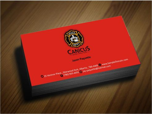 Canicus Business Cards and Stationery  Draft # 98 by Deck86