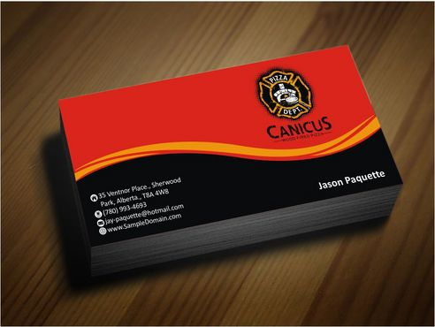 Canicus Business Cards and Stationery  Draft # 111 by Deck86