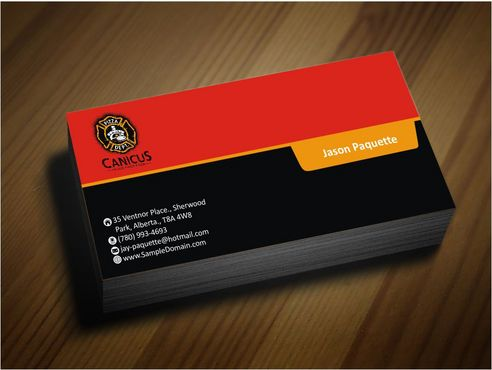 Canicus Business Cards and Stationery  Draft # 112 by Deck86