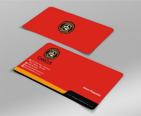 Canicus Business Cards and Stationery  Draft # 114 by Deck86