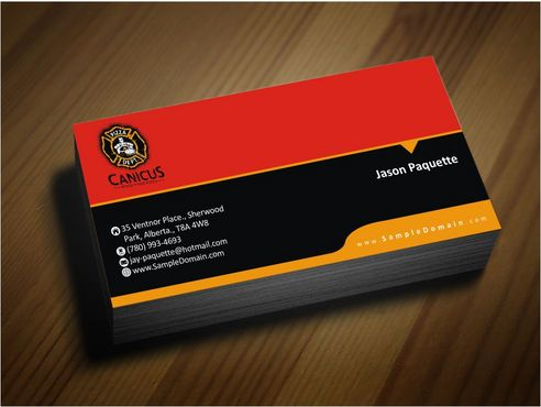 Canicus Business Cards and Stationery  Draft # 113 by Deck86