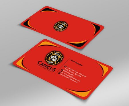 Canicus Business Cards and Stationery  Draft # 115 by Deck86