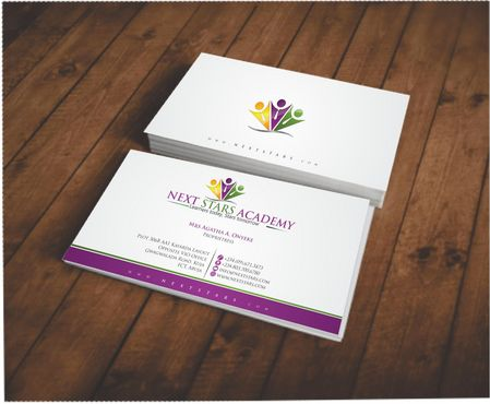 Business card and stationery for School Business Cards and Stationery  Draft # 134 by Deck86