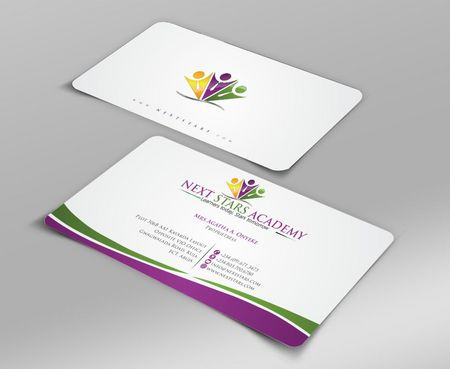 Business card and stationery for School Business Cards and Stationery  Draft # 138 by Deck86
