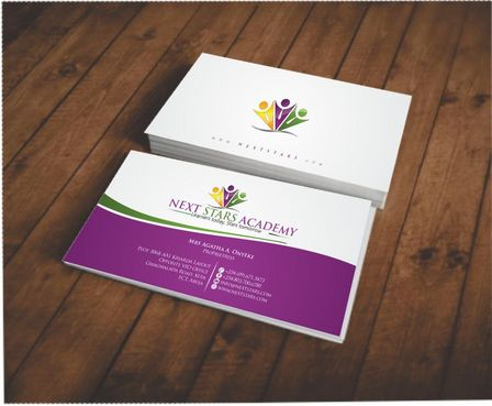 Business card and stationery for School Business Cards and Stationery  Draft # 141 by Deck86