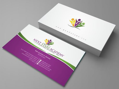 Business card and stationery for School Business Cards and Stationery  Draft # 142 by Deck86