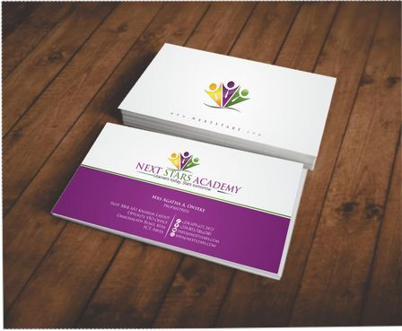 Business card and stationery for School Business Cards and Stationery  Draft # 143 by Deck86