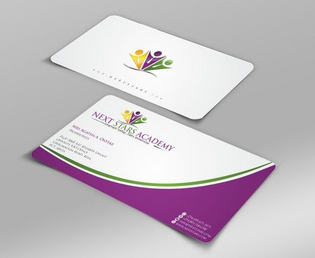 Business card and stationery for School Business Cards and Stationery  Draft # 144 by Deck86
