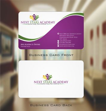 Business card and stationery for School Business Cards and Stationery  Draft # 147 by Deck86