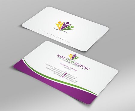 Business card and stationery for School Business Cards and Stationery  Draft # 149 by Deck86