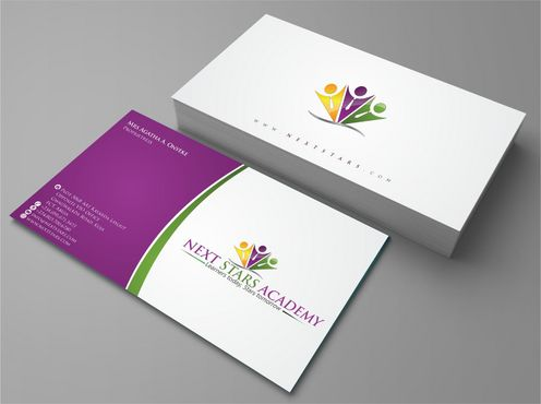 Business card and stationery for School Business Cards and Stationery  Draft # 153 by Deck86