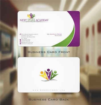 Business card and stationery for School Business Cards and Stationery  Draft # 154 by Deck86