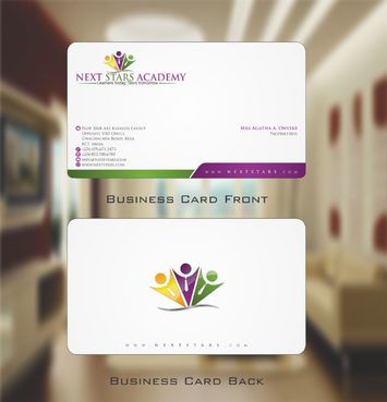 Business card and stationery for School Business Cards and Stationery  Draft # 156 by Deck86