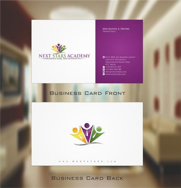 Business card and stationery for School Business Cards and Stationery  Draft # 157 by Deck86
