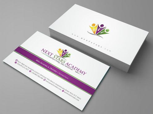 Business card and stationery for School Business Cards and Stationery  Draft # 159 by Deck86