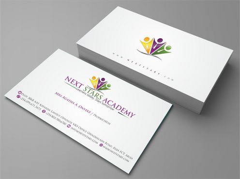 Business card and stationery for School Business Cards and Stationery  Draft # 160 by Deck86