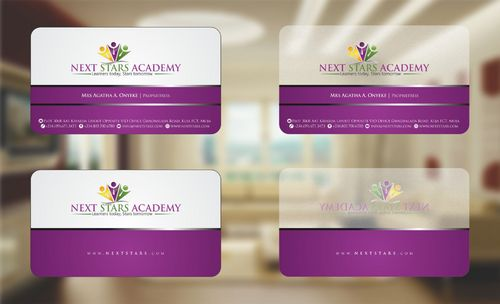 Business card and stationery for School Business Cards and Stationery  Draft # 163 by Deck86