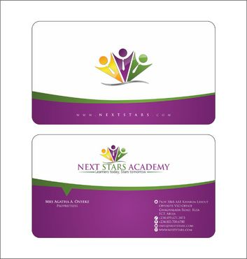 Business card and stationery for School Business Cards and Stationery  Draft # 168 by Deck86