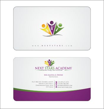Business card and stationery for School Business Cards and Stationery  Draft # 167 by Deck86
