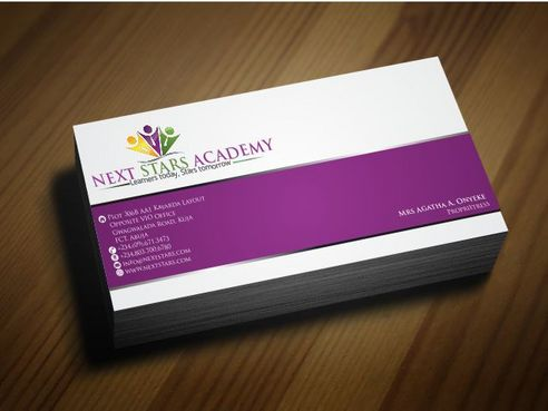 Business card and stationery for School Business Cards and Stationery  Draft # 169 by Deck86