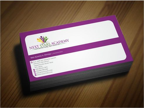 Business card and stationery for School Business Cards and Stationery  Draft # 171 by Deck86