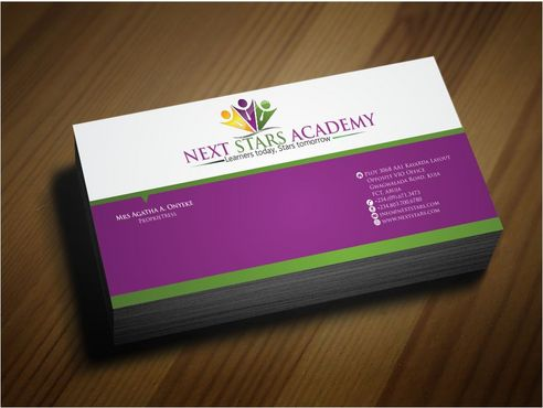Business card and stationery for School Business Cards and Stationery  Draft # 170 by Deck86