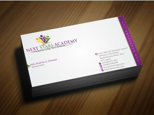 Business card and stationery for School Business Cards and Stationery  Draft # 173 by Deck86
