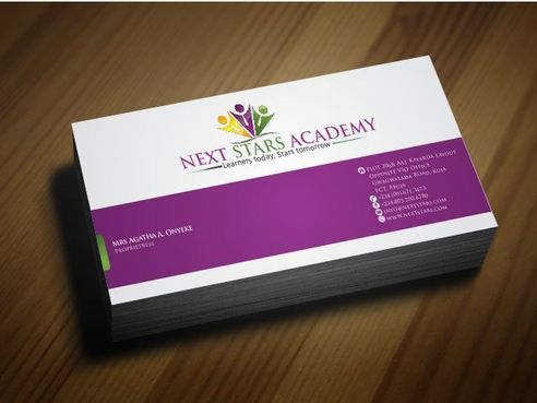 Business card and stationery for School Business Cards and Stationery  Draft # 174 by Deck86