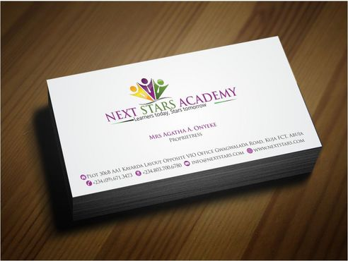 Business card and stationery for School Business Cards and Stationery  Draft # 176 by Deck86