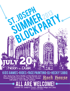 St. Joseph Summer Block Party