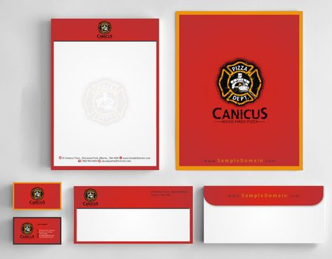 Canicus Business Cards and Stationery  Draft # 127 by Deck86