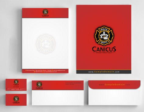 Canicus Business Cards and Stationery  Draft # 128 by Deck86