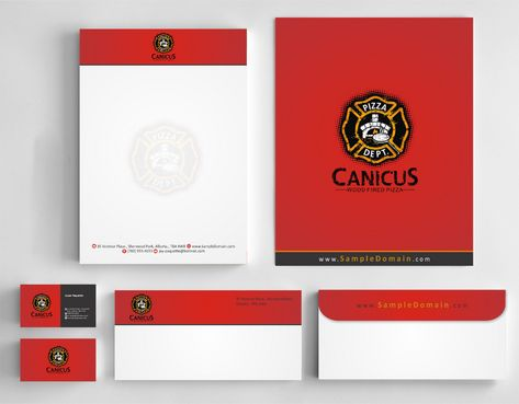 Canicus Business Cards and Stationery  Draft # 129 by Deck86