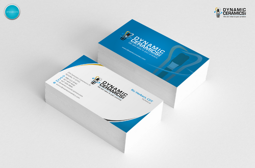Dynamic Ceramics, Inc. Business Cards and Stationery  Draft # 173 by aheadpoint