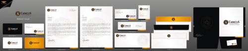 Canicus Business Cards and Stationery  Draft # 130 by einsanimation