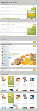free from supermarket - full of goodness Web Design  Draft # 7 by hamdirizal
