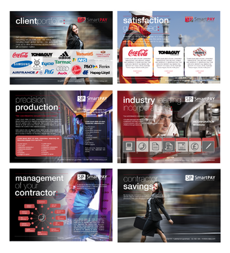 Graphical Sales cards for a contractor accountant