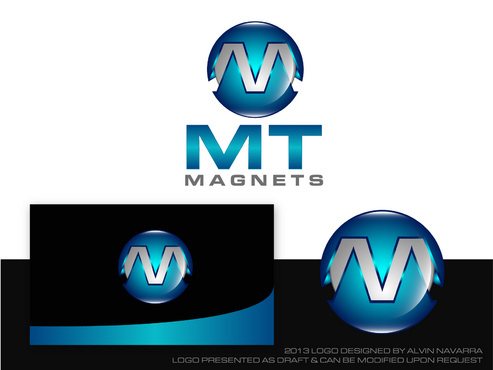 MT Magnets A Logo, Monogram, or Icon  Draft # 45 by alvinnavarra