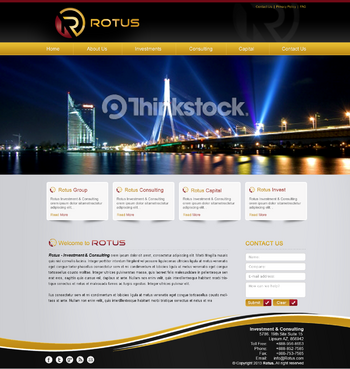 Rotus Blog Design Template  Draft # 41 by MeGaMax3Ds2Dio