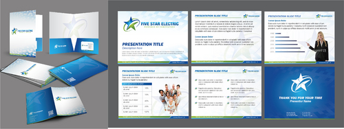 FIVE STAR ELECTRIC- (use pre designed logo)