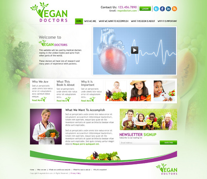 Vegan Doctors WEBSITE
