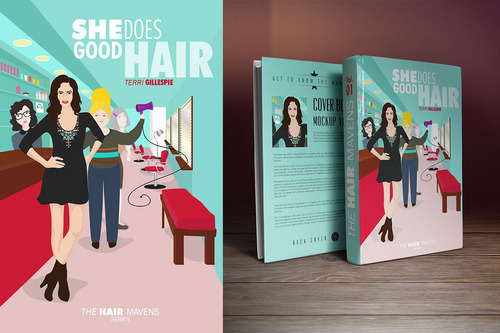 The Hair Mavens--She Does Good Hair Marketing collateral  Draft # 19 by tinsleyraine